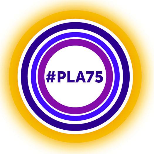 #PLA75 Logo
